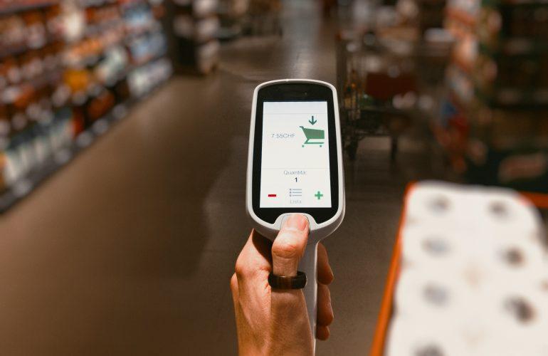 technologie w sklepie